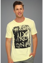 Nixon Concord S/S Tee (Washed Yellow) - Apparel