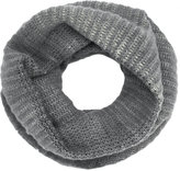 Avant Toi ribbed two-tone snood