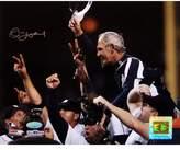 Steiner Sports Jim Leyland 2006 ALDS Celebration Carry Off Horizontal Autographed 8x10 Photo