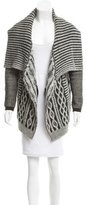 Yigal Azrouel Wool Crochet Sweater