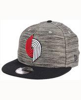 New Era Portland Trail Blazers Blurred Trick 9FIFTY Snapback Cap