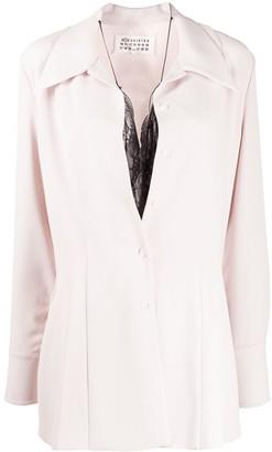 Maison Margiela Long-Sleeved Layered Shirt