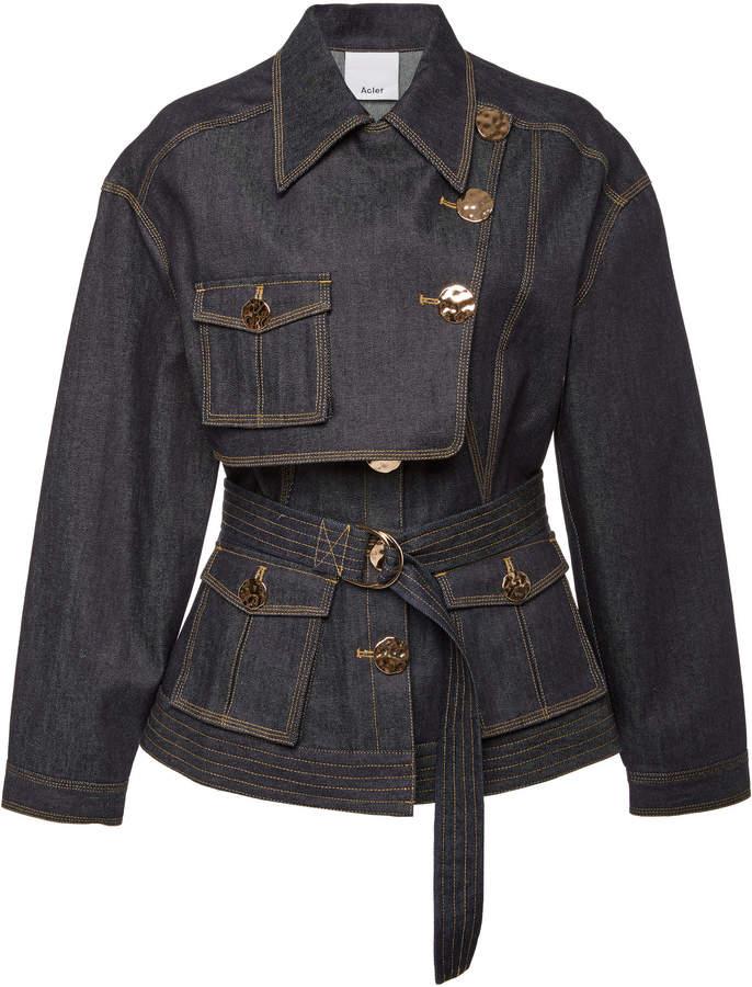3952395c02c Women Dark Denim Jacket - ShopStyle