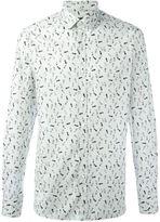 Lanvin footstep print shirt - men - Cotton - 40