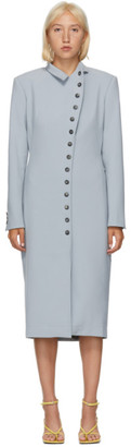 Situationist Grey Jersey Asymmetric Blazer Dress