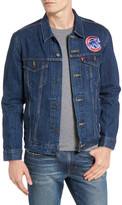 Levi's Chicago Cubs Demin Trucker Jacket