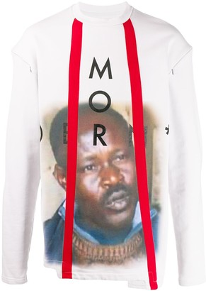 A-Cold-Wall* modern detachable sleeve sweatshirt