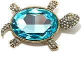 "Heidi Daus Turtle-tique"" Crystal Pin"