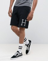 Huf Shorts With Reflective Logo