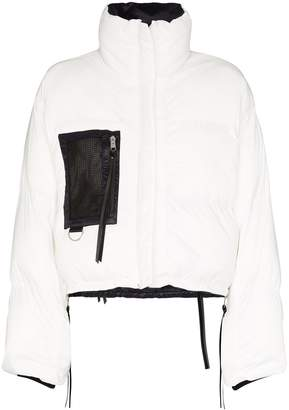 SHOREDITCH SKI CLUB Laurie reversible cropped jacket