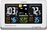 La Crosse Technology 308-1414W Wireless Atomic Digital Color Forecast Station with Alerts