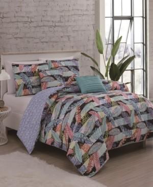 Geneva Home Fashion Bellamy 5-Pc Queen Comforter Set Bedding