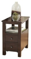 Ashley Furniture Marion Chair Side End Table Dark Brown - Signature Design by Ashley