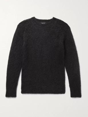 Howlin' Secret Lover Slim-Fit Mohair-Blend Sweater - Men - Black