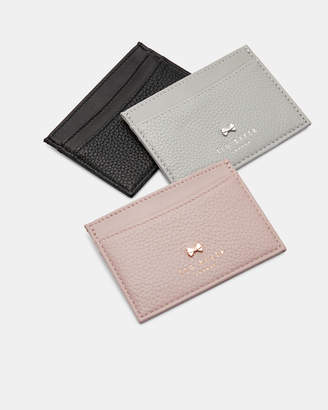 Ted Baker LISSIE Bow detail leather card holder