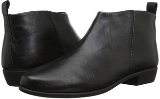 Aerosoles Step It Up (Black Leather) Women's Boots