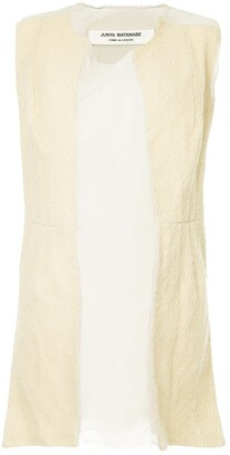Junya Watanabe Comme Des Garçons Pre Owned Sheer Mini Dress