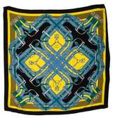 Hermes Mors a Jouets Cashmere and Silk Shawl