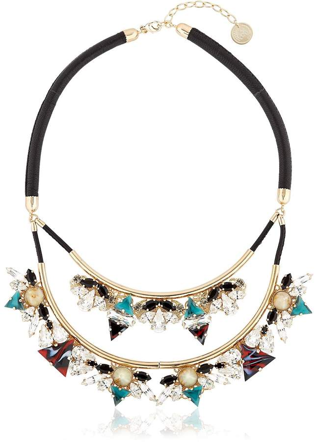 Anton Heunis Art Deco Expression Necklace