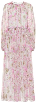 Zimmermann Super Eight Braid silk midi dress