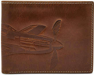Fossil Men Danny Embossed Leather Wallet