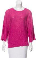 eskandar Linen-Blend Lightweight Sweater w/ Tags
