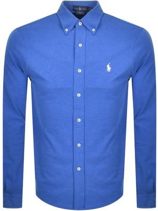 Ralph Lauren Featherweight Mesh Shirt Blue