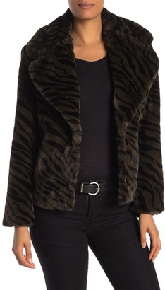 Sanctuary Wild Nights Faux Fur Jacket