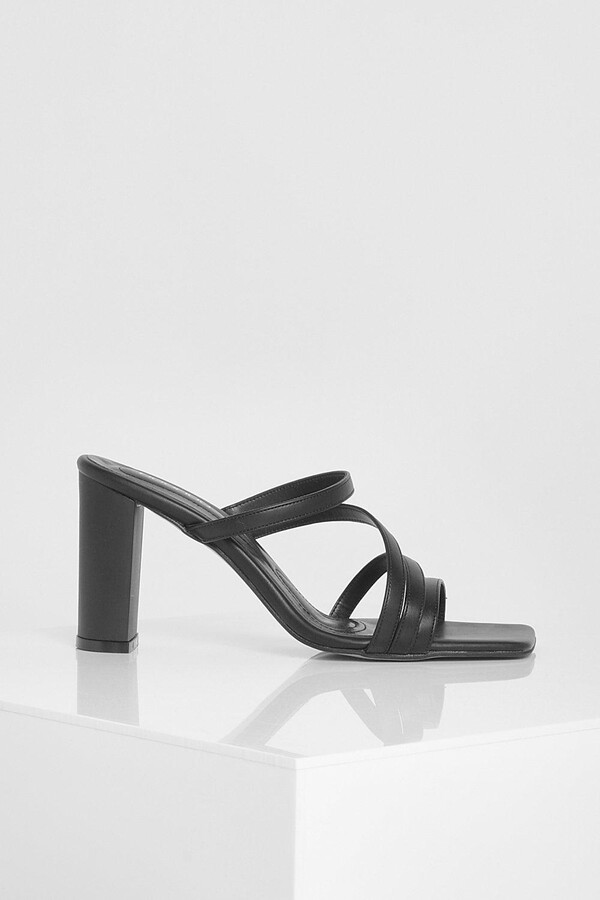 Thumbnail for your product : boohoo Cross Over Strap Detail Heels