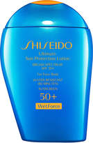 Shiseido Ultimate Sun Protection Lotion Broad Spectrum SPF 50+ WetForce