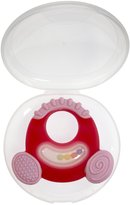 Nuby Natural Touch Softees Teether - Girl - 0+ Months
