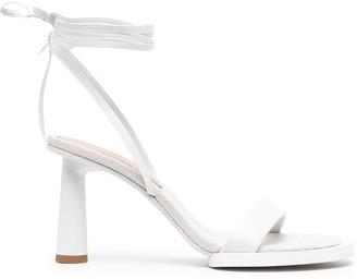 Jacquemus Tie-Fastening Ankle Sandals
