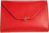 Valextra Women's Isis iPad® Clutch-RED, BEIGE
