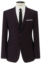 Kin By John Lewis Slim Fit Stamford Tonic Suit Jacket, Claret