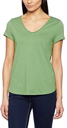 Marc O'Polo Women's 702206751261 T-Shirt, (Green Matcha)