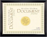 MCS Industries Black with Gold Elegant Document Frame, 8-1/2 by 11-Inch
