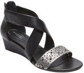 Rockport Women's Total Motion 55MM Ankle Strap Wedge Sandal