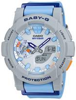 Casio Women's Baby-G BGA185-2A Rubber Quartz Watch