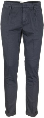 Dondup Gaubert Stretch Cotton And Linen Pants Trosers