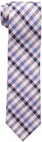 U.S. Polo Assn. Men's White Check Tie