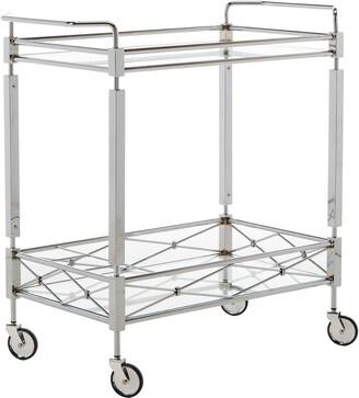 Safavieh Furniture Ingrid 2-Tier Rectangle Bar Cart
