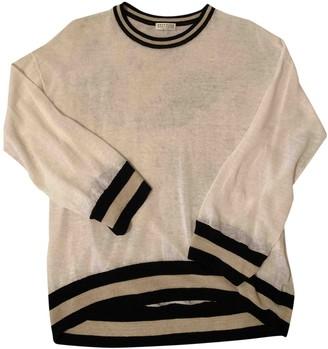 Brunello Cucinelli White Linen Knitwear for Women