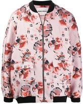Henrik Vibskov Floral Print Bomber Jacket