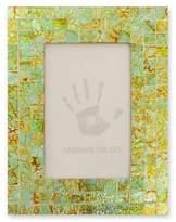 Glass mosaic photo frame (4x6), 'Sumptuous Summer Light'