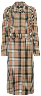 Burberry Vintage Check trench coat