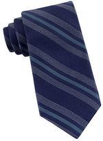Michael Kors Striped Silk Tie