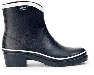 Aigle Miss Juliette Pop Ankle Boot Wellies, Made in France