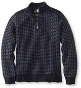 L.L. Bean Men's Bird's-Eye Wool/Cashmere Sweater