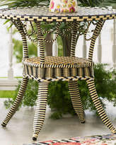 Mackenzie Childs MacKenzie-Childs Courtyard Outdoor Cafe Table