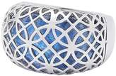 Leonardo Women ring Arioso stainless steel glass blue size 53 (16.9) - 016237